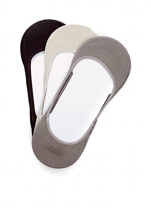 3-Pack Low Cut Dress Liner Socks