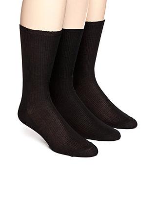 Non Elastic Dress Sock 3 Pack