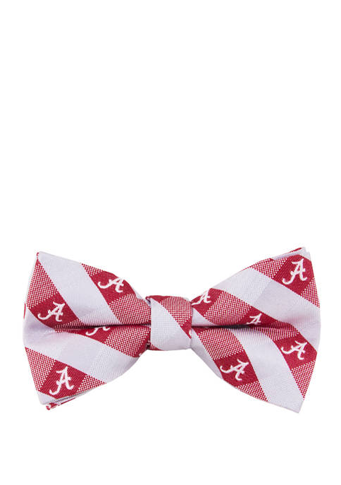 Eagles Wings NCAA Alabama Crimson Tide Check Bow