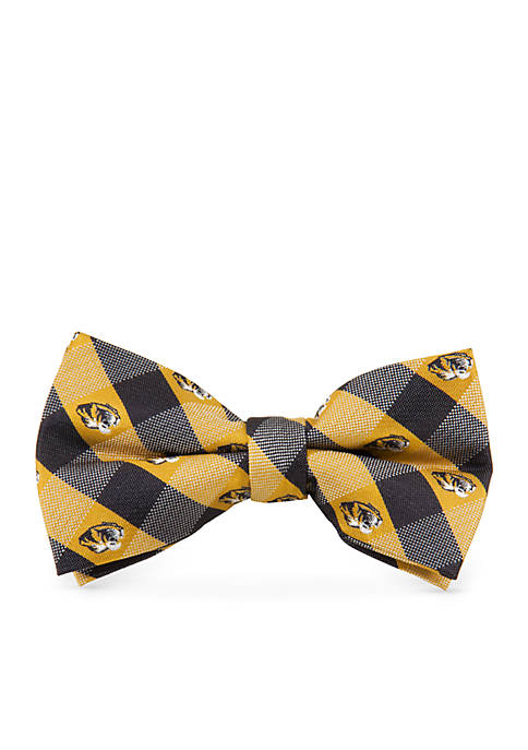 Eagles Wings Missouri Tigers Check Pre-tied Bow Tie