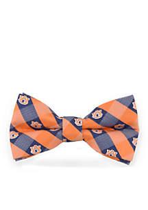 Auburn Tigers Check Pre-tied Bow Tie
