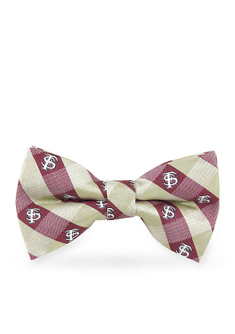Eagles Wings Florida State Seminoles Check Pre-tied Bow