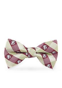 Florida State Seminoles Check Pre-tied Bow Tie