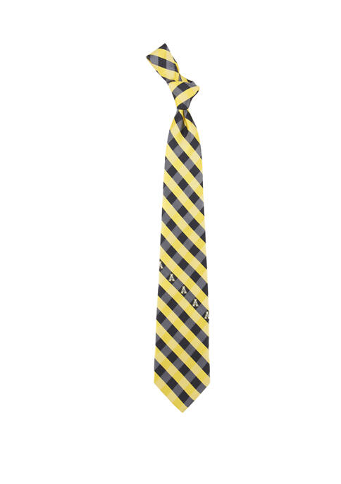 Eagles Wings NCAA Appalachian State Mountaineers Check Tie