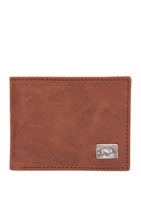 NCAA Arkansas Razorbacks Bi Fold Wallet