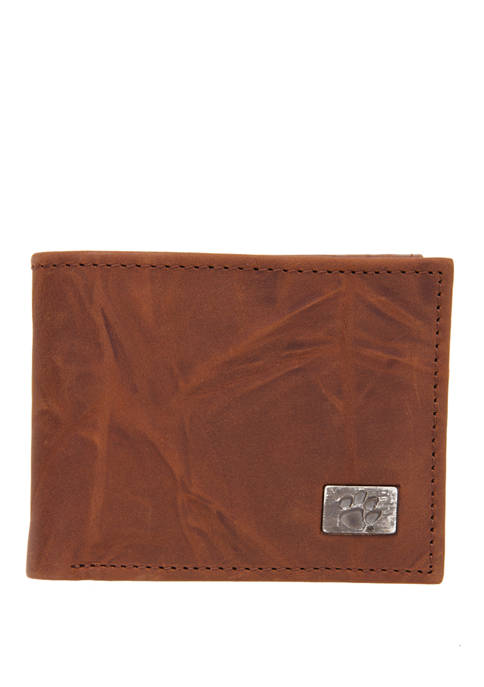 Eagles Wings NCAA Clemson Tigers Bi Fold Wallet