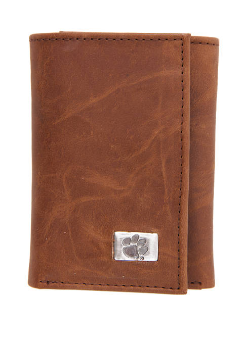 NCAA Clemson Tigers Tri Fold Wallet
