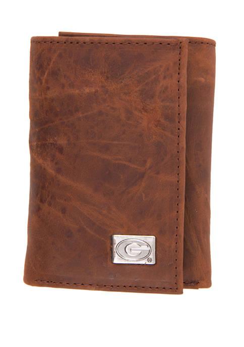 NCAA Georgia Bulldogs Tri Fold Wallet