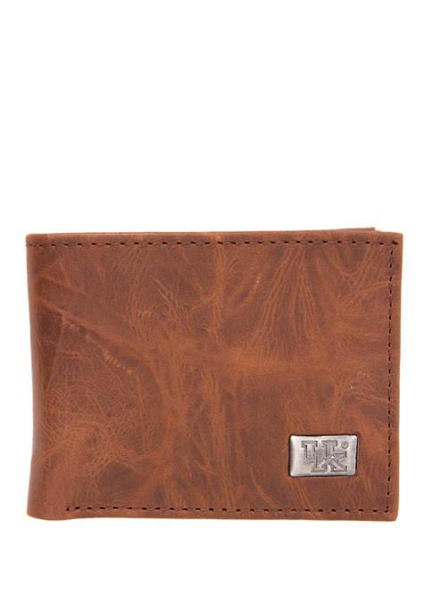 NCAA Kentucky Wildcats Bi Fold Wallet