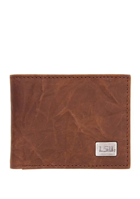 Eagles Wings NCAA LSU Tigers Bi Fold Wallet