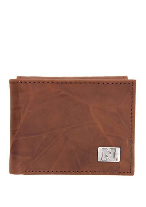 NCAA Nebraska Cornhuskers Bi Fold Wallet