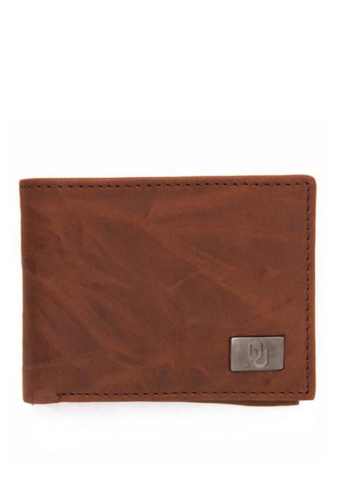 NCAA Oklahoma Sooners Bi Fold Wallet