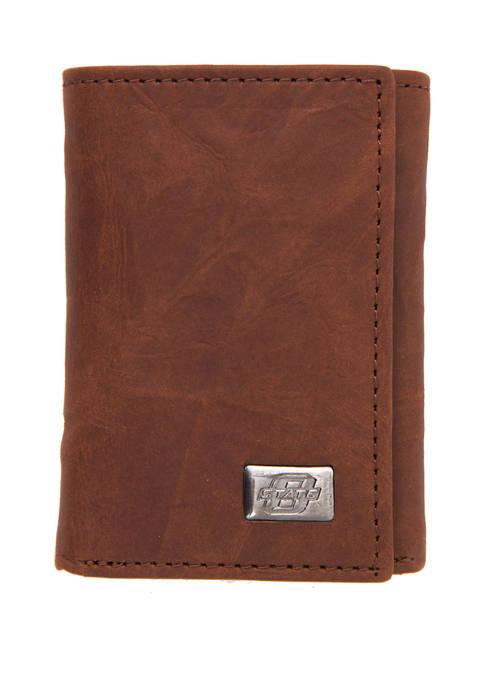 NCAA Oklahoma State Cowboys Tri Fold Wallet
