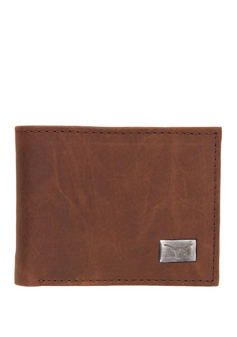 NCAA Texas Longhorns Bi Fold Wallet