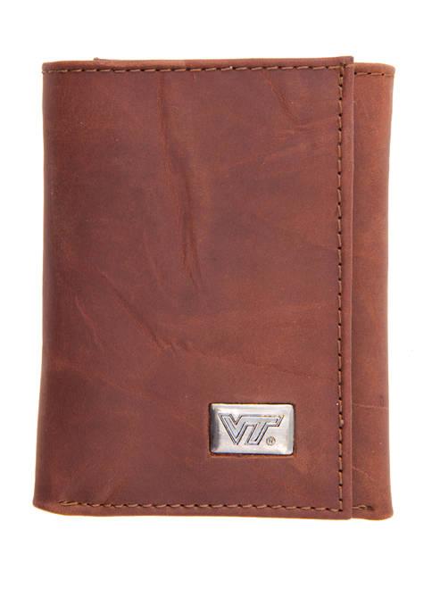 NCAA Virginia Tech Hokies Tri Fold Wallet