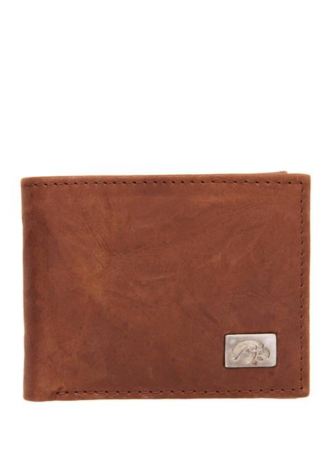 NCAA Iowa Hawkeyes Bi Fold Wallet