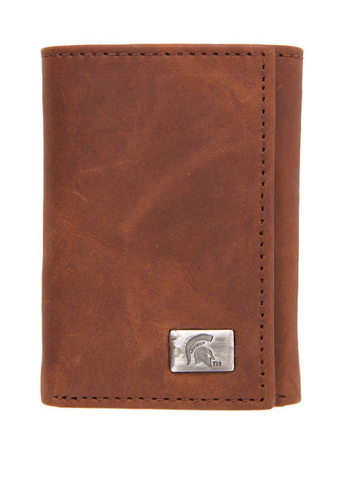 NCAA Michigan State Spartans Tri Fold Wallet