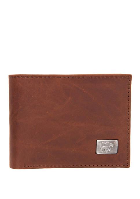 NCAA Kansas State Wildcats Bi Fold Wallet
