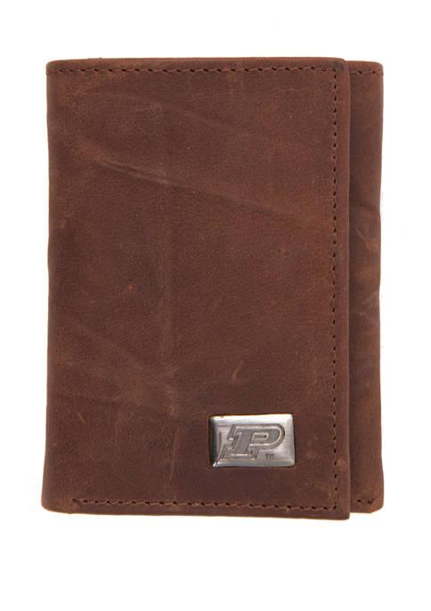 NCAA Purdue Boilermakers Tri Fold Wallet