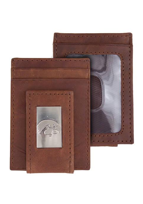NCAA Iowa Hawkeyes Front Pocket Wallet