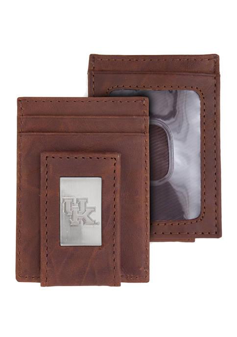 NCAA Kentucky Wildcats Front Pocket Wallet