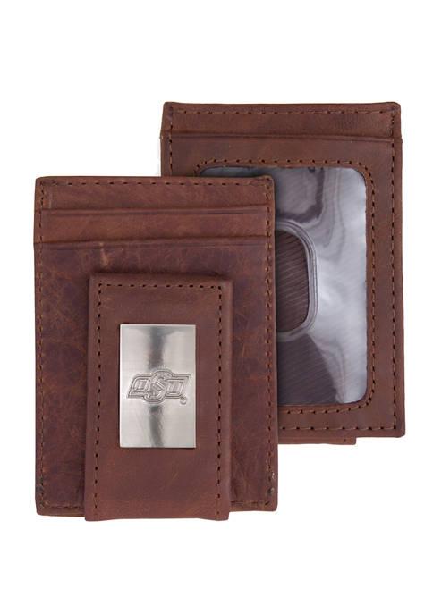 NCAA Oklahoma State Cowboys Front Pocket Wallet