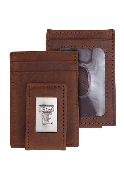 NCAA Texas Tech Red Raiders Front Pocket Wallet