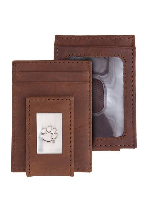 NCAA Clemson Tigers Front Pocket Wallet