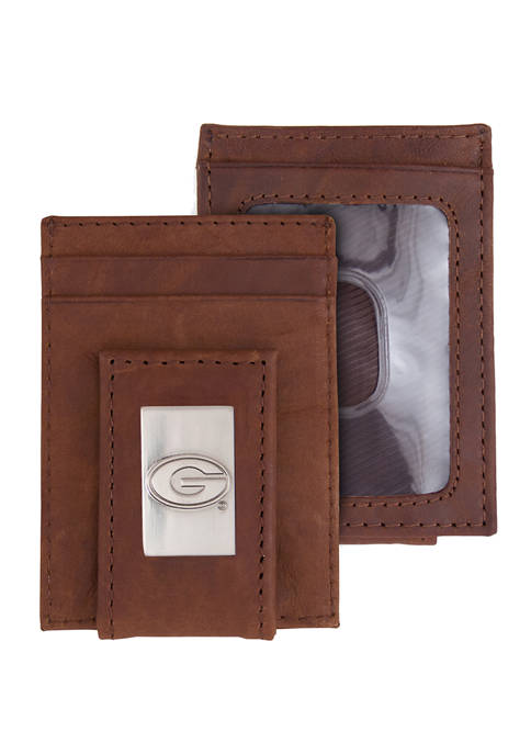NCAA Georgia Bulldogs Front Pocket Wallet