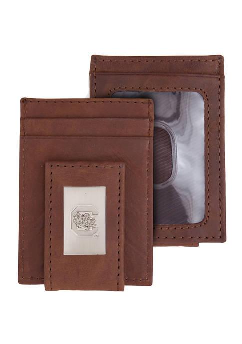 NCAA South Carolina Gamecocks Front Pocket Wallet