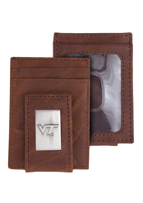 NCAA Virginia Tech Hokies Front Pocket Wallet