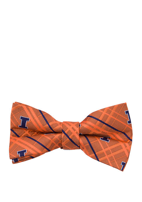 Eagles Wings NCAA Illinois Fighting Illini Oxford Bow