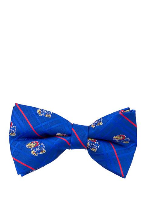 Eagles Wings NCAA Kansas Jayhawks Oxford Bow Tie