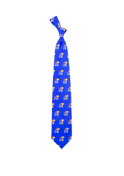 Eagles Wings NCAA Kansas Jayhawks Prep Tie