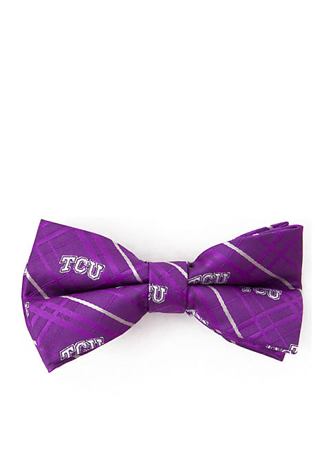 TCU Horned Frogs Oxford Bow Tie