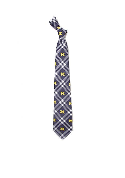 Michigan Wolverines Rhodes Necktie