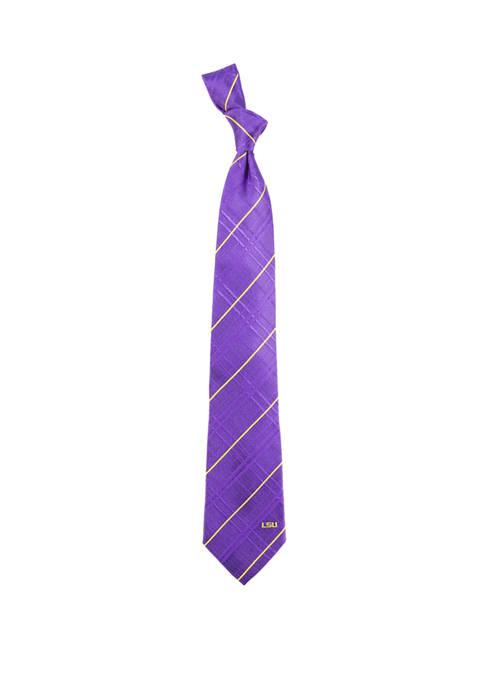 NCAA LSU Tigers Oxford Woven Tie