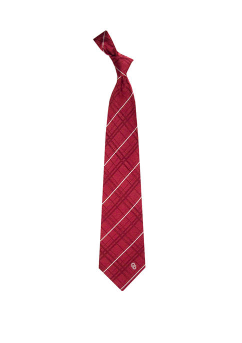 Eagles Wings NCAA Oklahoma Sooners Oxford Woven Tie