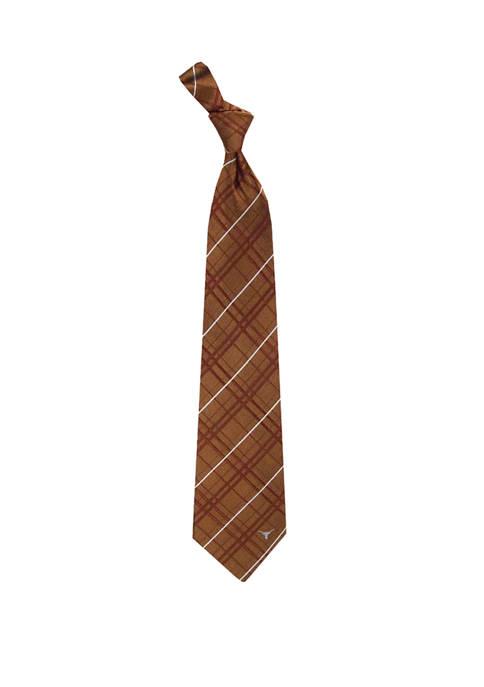 Eagles Wings NCAA Texas Longhorns Oxford Woven Tie