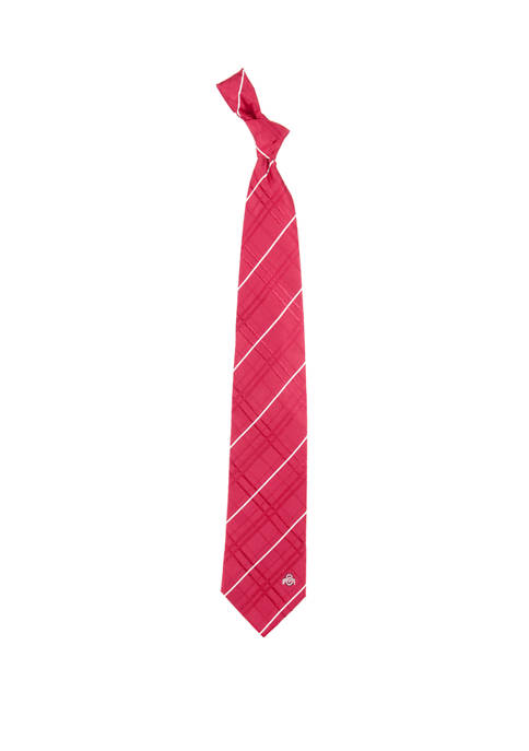 NCAA Ohio State Buckeyes Oxford Woven Tie