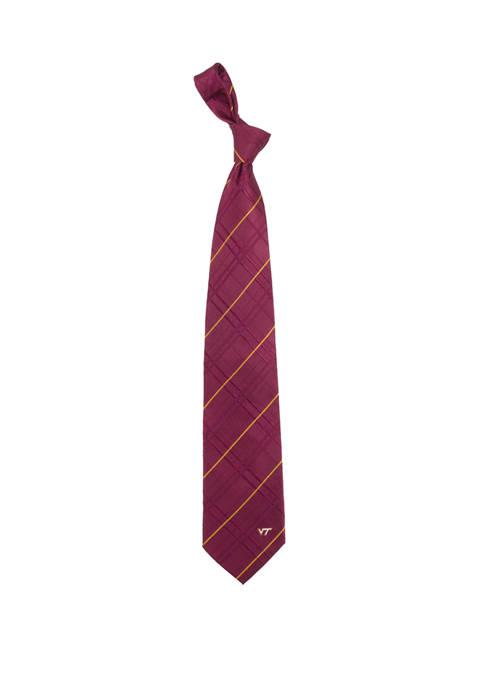 NCAA Virginia Tech Hokies Oxford Woven Tie