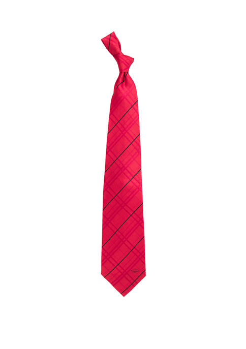 Eagles Wings NCAA Arkansas Razorbacks Oxford Woven Tie