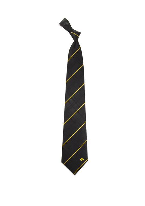NCAA Iowa Hawkeyes Oxford Woven Tie