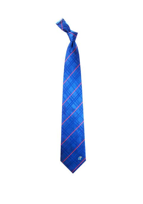 Eagles Wings NCAA Kansas Jayhawks Oxford Woven Tie