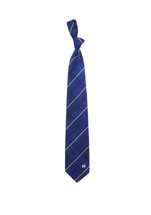 NCAA Michigan Wolverines Oxford Woven Tie