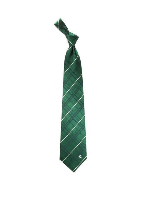 NCAA Michigan State Spartans Oxford Woven Tie