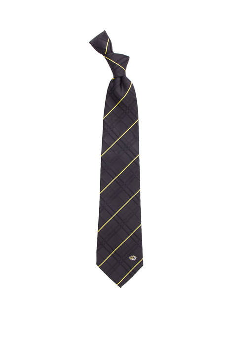 NCAA Missouri Tigers Oxford Woven Tie