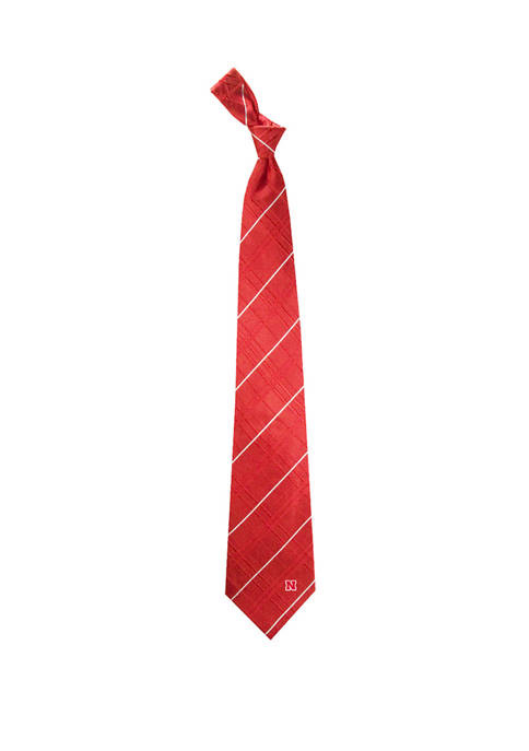 NCAA Nebraska Cornhuskers Oxford Woven Tie