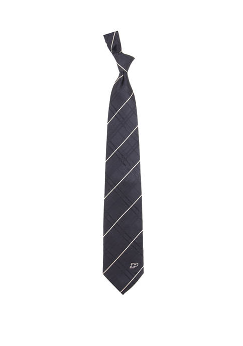 NCAA Purdue Boilermakers Oxford Woven Tie