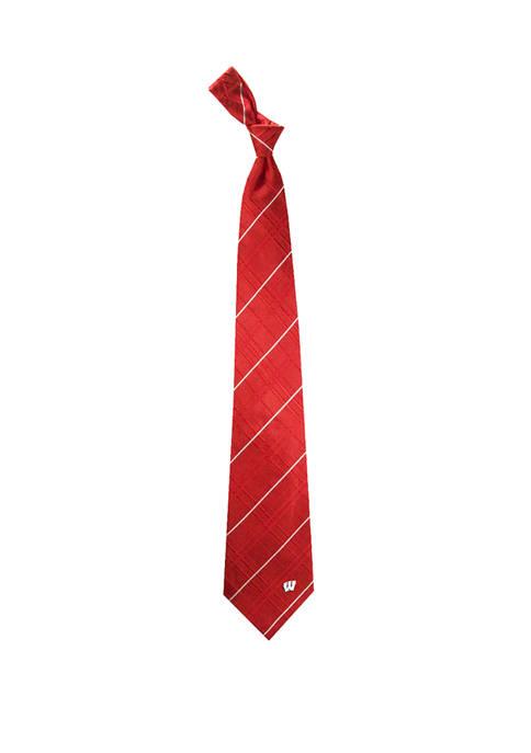 NCAA Wisconsin Badgers Oxford Woven Tie
